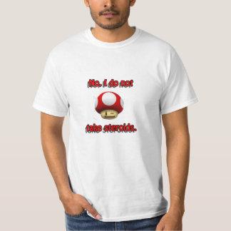 Mario Mushroom Steroids T-Shirt