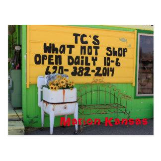 Marion Kansas T C'S Whatnot's Post Card