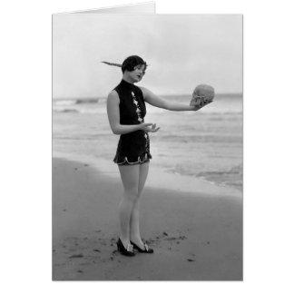 Marion McDonald - Bathing Beauty Card