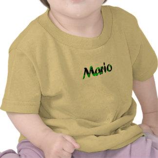Mario's yellow short sleeve t-shirt