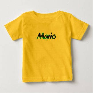 Mario's yellow short sleeve t-shirt