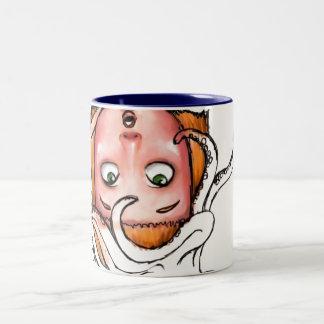Marissa Monday Design II Two-Tone Coffee Mug