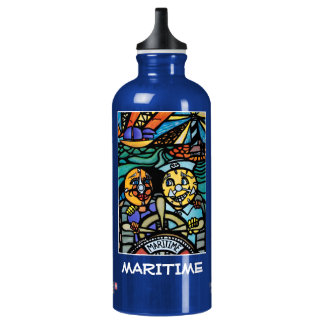 Maritime  - Blue  - Time Pieces Water Bottle
