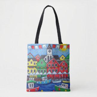 Maritime Hometown Festival Bag By Lisa Lorenz