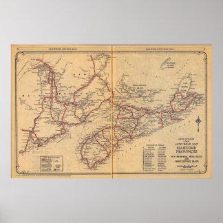 Maritime Provinces 2 Poster