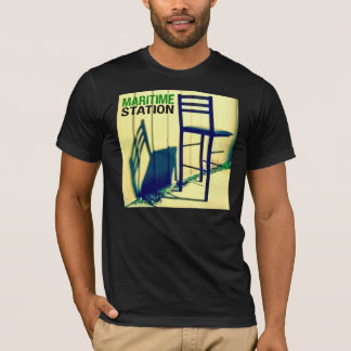 Maritime Station Black Cover T T-Shirt