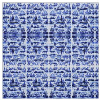 MARITIME,VINTAGE SHIPS,SAILING VESSELS,Navy Blue Fabric