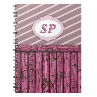 Maritime Wall - Pink Note Book