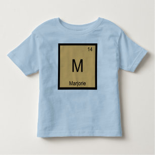 Baby name marjorie gifts on zazzle au marjorie name chemistry element periodic table toddler t shirt urtaz Images