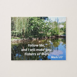 Mark 1:17 Follow me and I will make you fishers of Puzzle