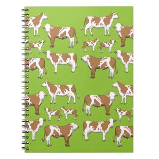 Mark cattle selection notebooks