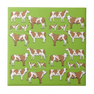 Mark cattle selection tile