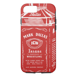 Mark Dallas iPhone cover (Red)