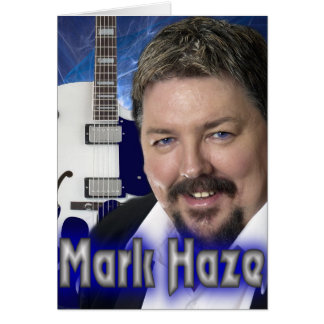 mark haze promo card