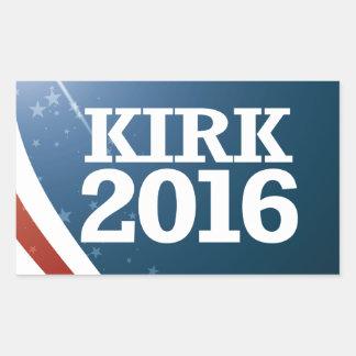 Mark Kirk 2016 Rectangular Sticker