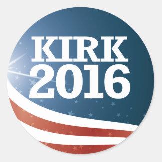 Mark Kirk 2016 Round Sticker