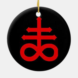 MARK of the DEVIL Ceramic Ornament