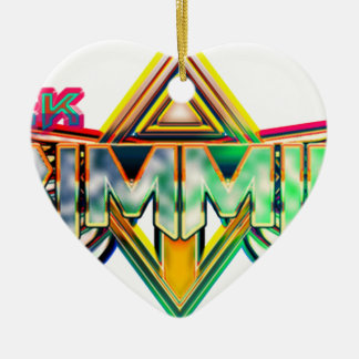 Mark Trimmier Band Ceramic Ornament