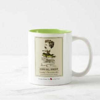 Mark Twain at Barber Hall Homer NY Frog Race Mug