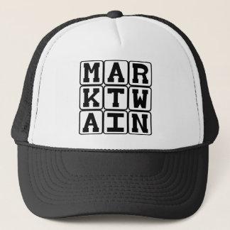 Mark Twain, Author of Tom Sawyer and Huck Finn Trucker Hat
