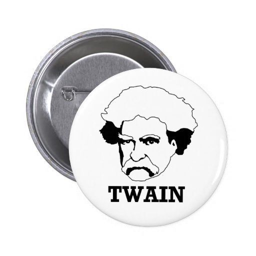 Mark Twain Pinback Button