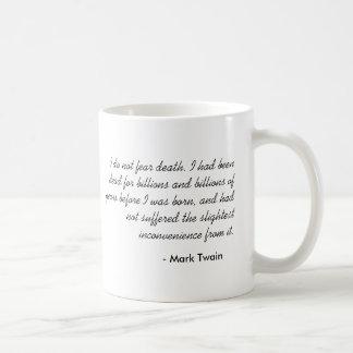 Mark Twain Basic White Mug