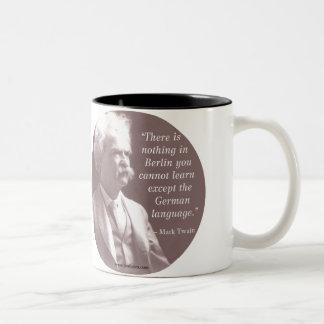 Mark Twain Berlin Mug