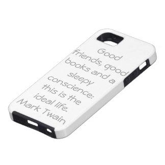 Mark Twain iPhone 5 Cover