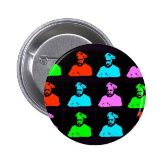 Mark Twain Collage Pinback Buttons