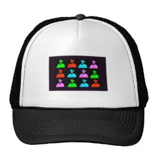 Mark Twain Collage Trucker Hat