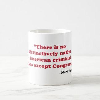 Mark Twain - congress Mug