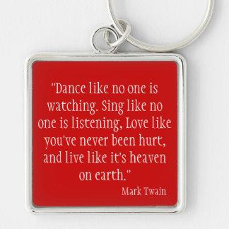 Mark Twain Key Chains