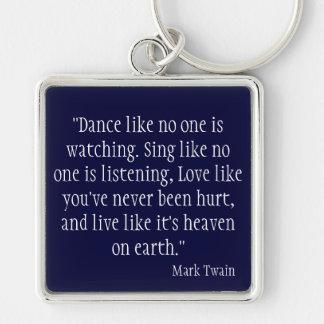 Mark Twain Keychains