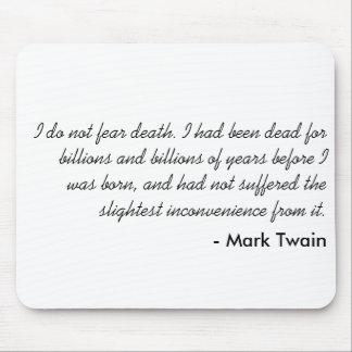 Mark Twain Mouse Mats
