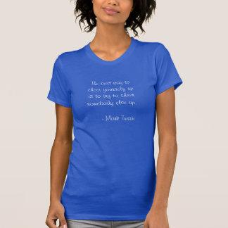 Mark Twain on Cheering Yourself Up T Shirt