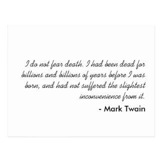 Mark Twain Postcards