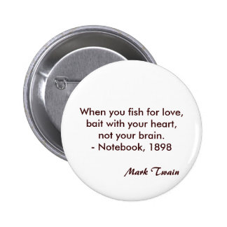 Mark Twain Quote 6 Cm Round Badge