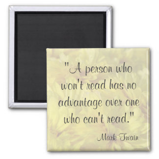 Mark Twain Quote Magnets