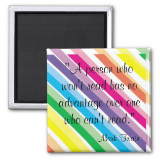 Mark Twain Quote Refrigerator Magnets