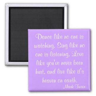 Mark Twain Quote Fridge Magnets