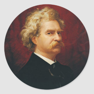 Mark Twain Stickers
