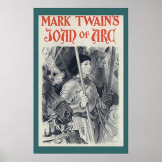 Mark Twain's Joan of Arc Poster