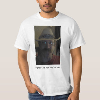 Mark Vermont denies being the son of Bigfoot! T-Shirt