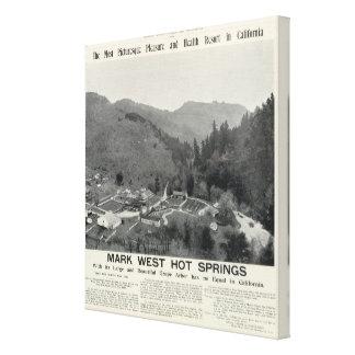 Mark West Hot Springs, California Gallery Wrap Canvas