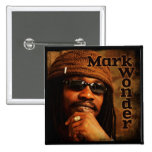 "Mark Wonder 2"" Square Badge"