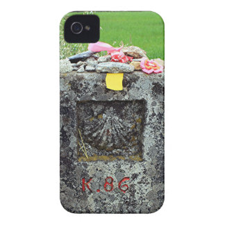 Marker 86 kilometres, El Camino, Spain Case-Mate iPhone 4 Cases