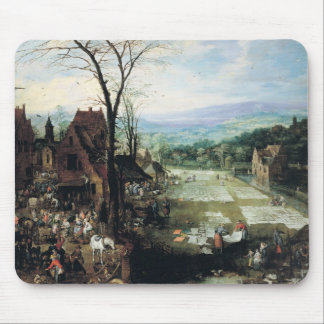 Market and Bleaching Ground, 1620-22 Mousepads