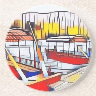 Market Boats Coaster