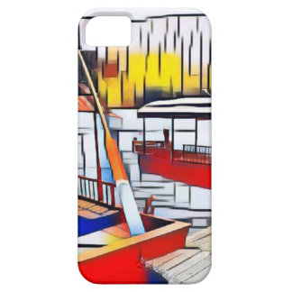 Market Boats iPhone 5 Covers