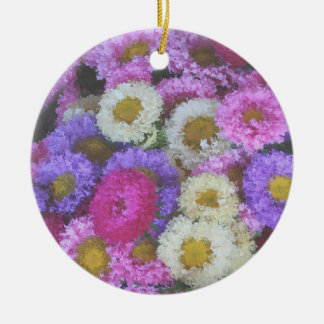 market flowers ornament